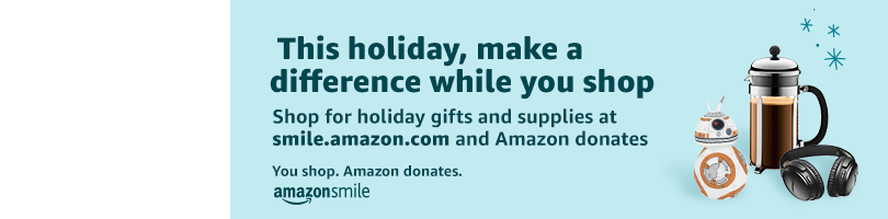 Shop Amazon Smile to Support Chesed